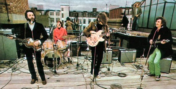 The Beatles – Rooftop Concert – 44 Anos