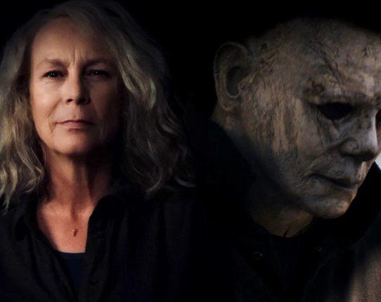 Halloween 2018 Laurie Strode Michael Myers 542x430 - Halloween (2018): Já vimos tudo isso antes!