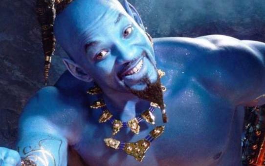 Will Smith é o Gênio da Disney em Aladdin.