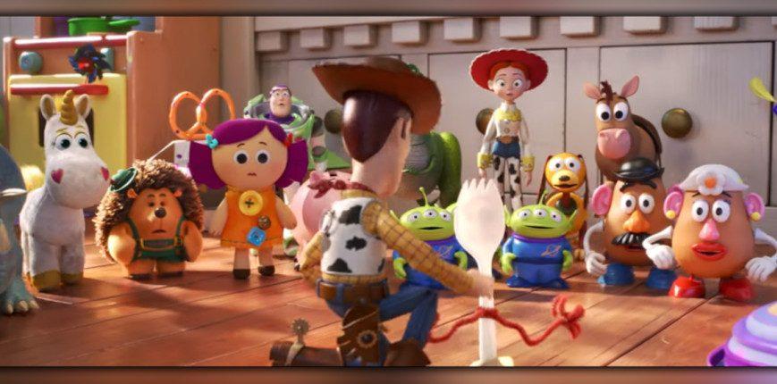 Woody está de volta em Toy Story 4